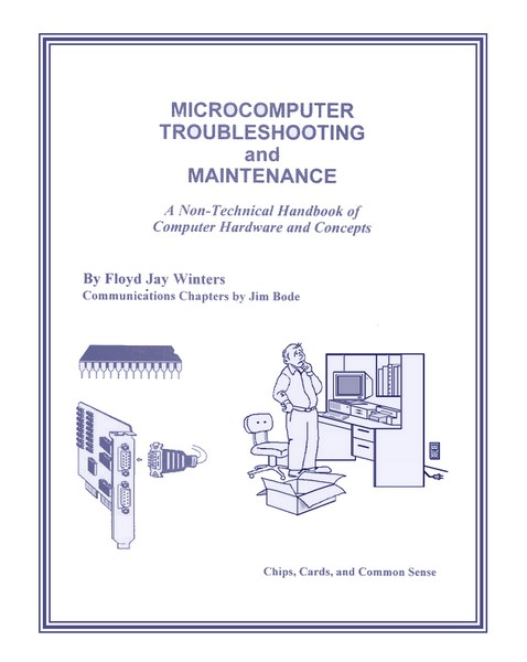 Microcomputer Troubleshooting and Maintenance 1997