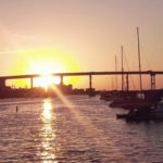 Ft Myers Bridge Sunset