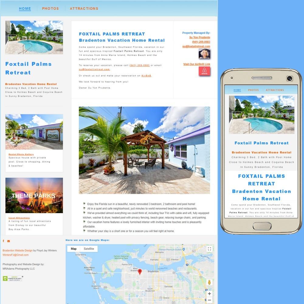 Foxtail Palms, Bradenton Vacation Home Rental